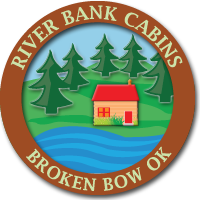 Mountain Fork River Bank Cabins | Broken Bow Oklahoma | Beavers Bend